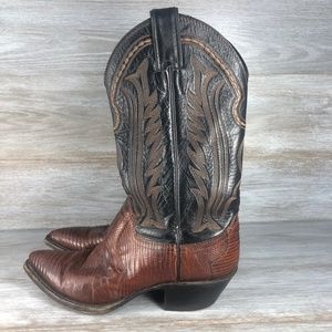 Justin Boots Women's Snakeskin Cowboy Boots